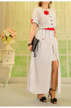 Платье 202 узкая полоска